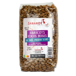Haricots cocos roses 1Kg