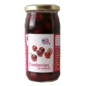 Cranberries au naturel bocal 37cl