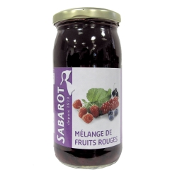 Mélange de fruits rouges en bocal 125g