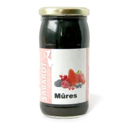 Mûres bocal 37cl