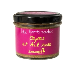 Tartinade cèpes et ail rose 90g