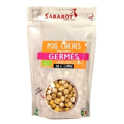 Pois chiches germés bio 150g